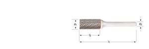 Immagine di P801 / Dormer sbavatore - cilindrico senza spallamento