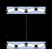Immagine per la categoria Cuscinetti a quattro corone di rulli conici con design TQO