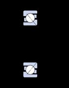 Immagine per la categoria Cuscinetti obliqui a sfere, a una corona