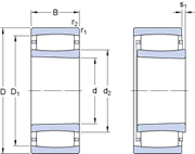 Immagine per la categoria Cuscinetti toroidali a rulli CARB