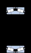 Immagine per la categoria Cuscinetti a due corone di rulli conici, design TDI