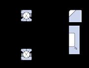 Immagine per la categoria Cuscinetti obliqui a sfere, cuscinetti a sfere a quattro punti di contatto