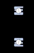 Immagine per la categoria Cuscinetti obliqui a sfere, Super-precision