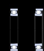 Immagine per la categoria Cuscinetti a rulli cilindrici, a una corona, Super-precision