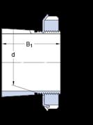 Immagine per la categoria Bussole di trazione per alberi con dimensioni in pollici