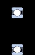Immagine per la categoria Cuscinetti radiali a una corona di sfere ibridi