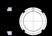 Immagine per la categoria Ghiere di bloccaggio con fissaggio integrato
