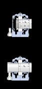 Immagine per la categoria Supporti ritti in due metà, serie SONL per cuscinetti su sede cilindrica