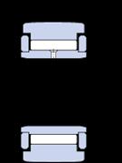 Immagine per la categoria Rotelle a rullini con anelli flangia, con un anello interno