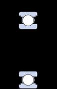 Immagine per la categoria Cuscinetti radiali a una corona di sfere INSOCOAT