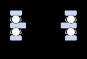 Immagine per la categoria Cuscinetti assiali a sfere, a doppio effetto
