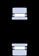 Immagine per la categoria Rotelle a rullini senza senza rondelle laterali, con un anello interno